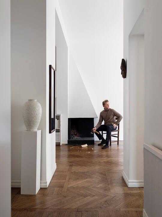 Claes  Juhlin Scandinavian Man
